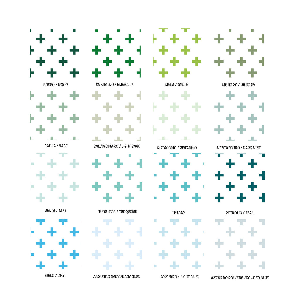 Self-Adhesive Crosses Film - More Colors Available - Decochic
