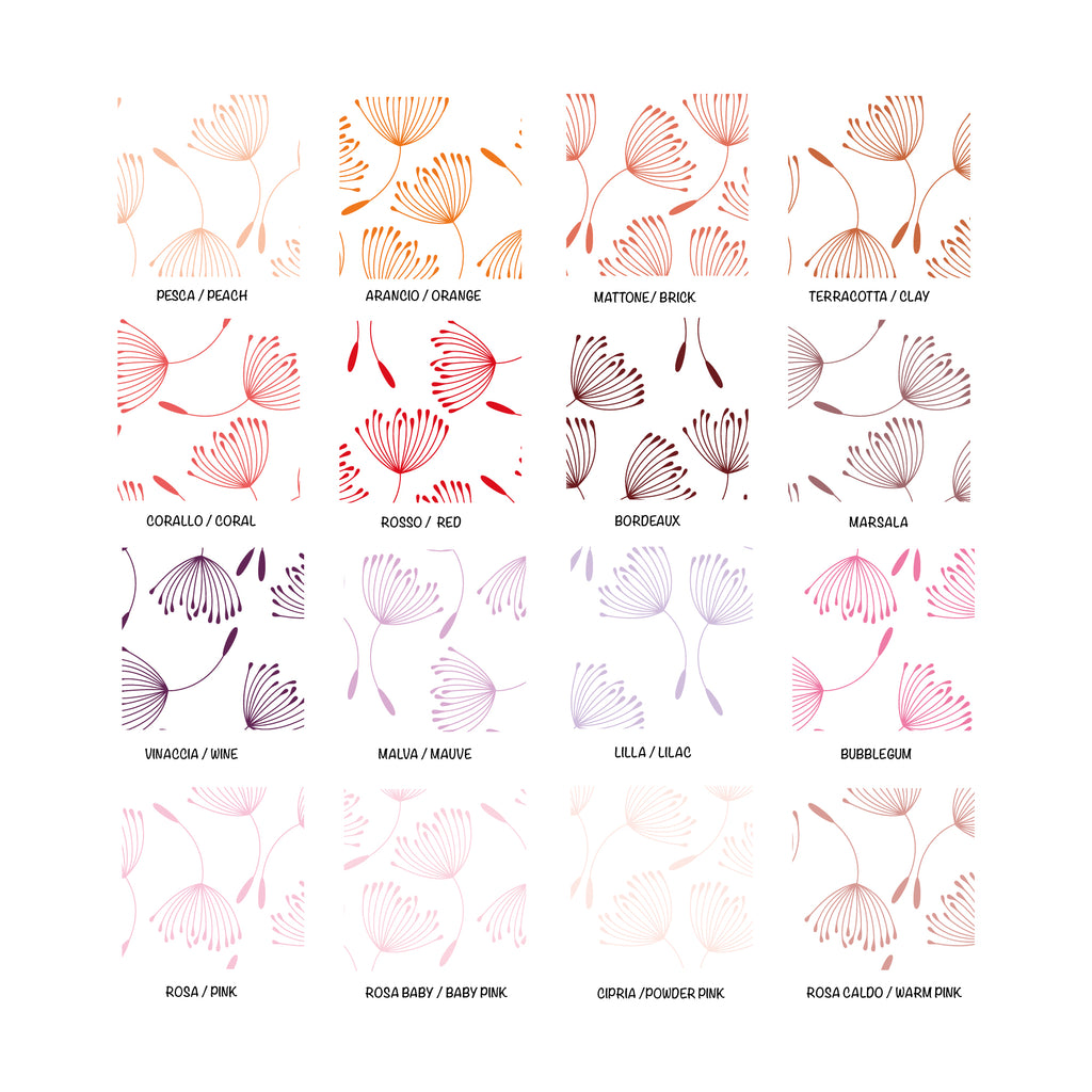 Dandelions Self-Adhesive Film - More Colors Available - Decochic