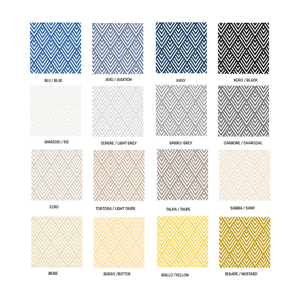Self-Adhesive Geometric Film - More Colors Available - Decochic