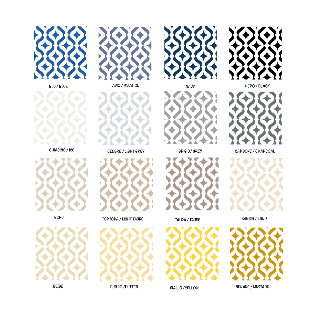 Modern Self-Adhesive Film - More Colors Available - Decochic