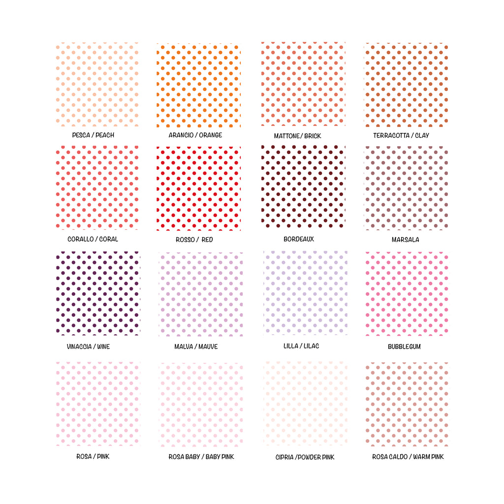 Self-Adhesive White Pois Film - More Colors Available - Decochic