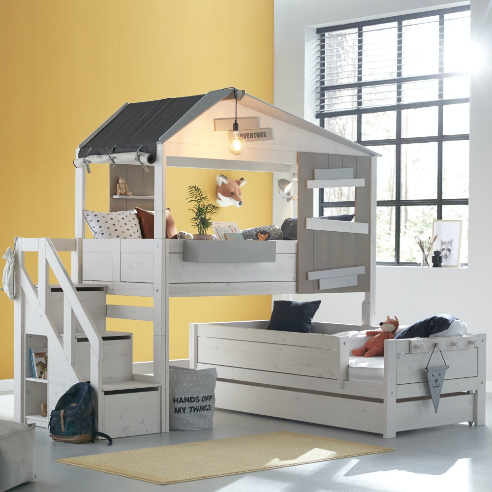 Hut Bed with Space Saver Ladder The Hideout LifeTime - Decochic