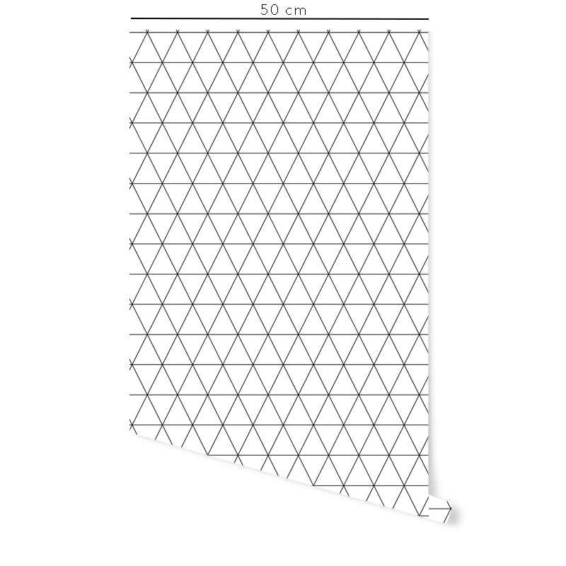 Self-Adhesive Film Triangles White Background- More Colors Available - Decochic