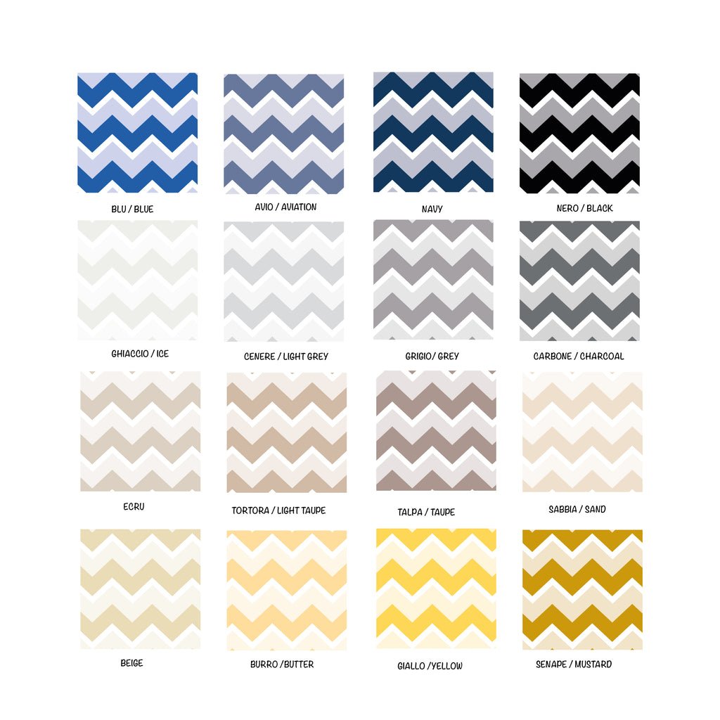 Zig Zag Vintage Self-Adhesive Film - More Colors Available - Decochic