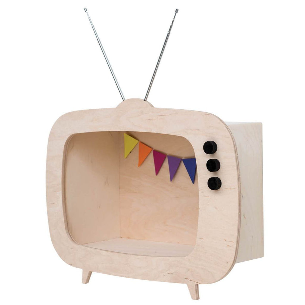 Mensola a TV Legno Up Warsaw - Decochic