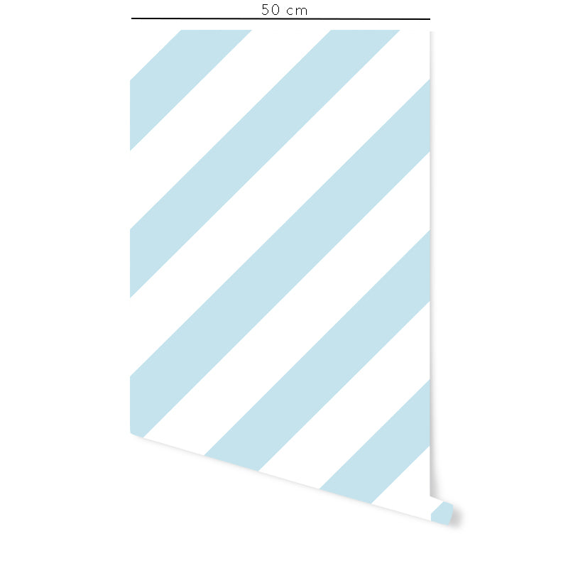 Oblique Strip Self-Adhesive Film - More Colors Available - Decochic