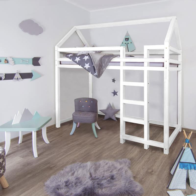 Nestle Benlemi Montessori Mezzanine Bed - More Colors and Sizes Available - Decochic