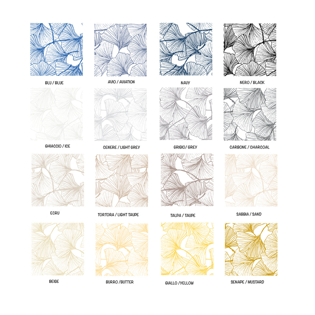 Gingko Self-Adhesive Film - More Colors Available - Decochic