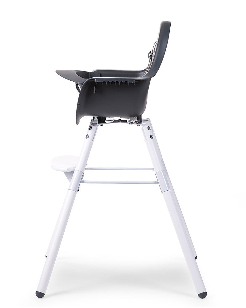 Seggiolone Evolutivo Evolu 2 Chair Antracite/Bianco Childhome - Decochic