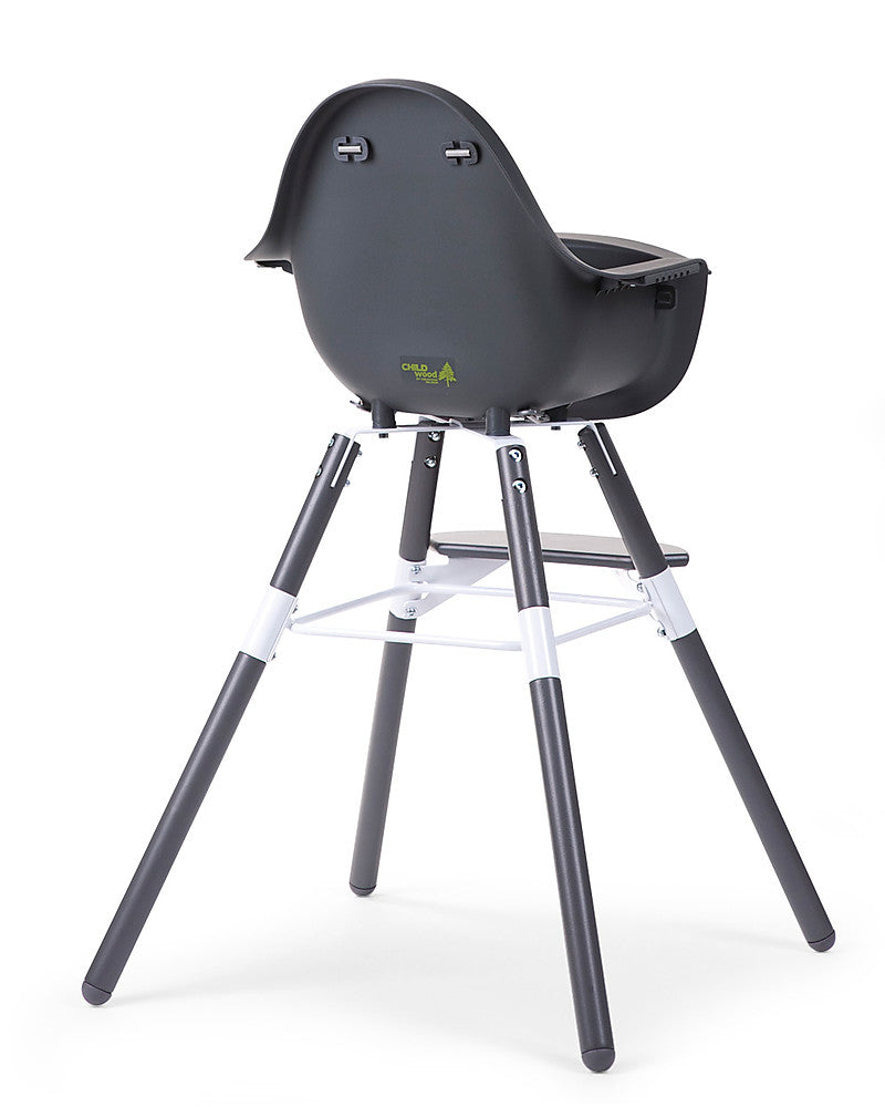Seggiolone Evolutivo Evolu 2 Chair Antracite Childhome - Decochic