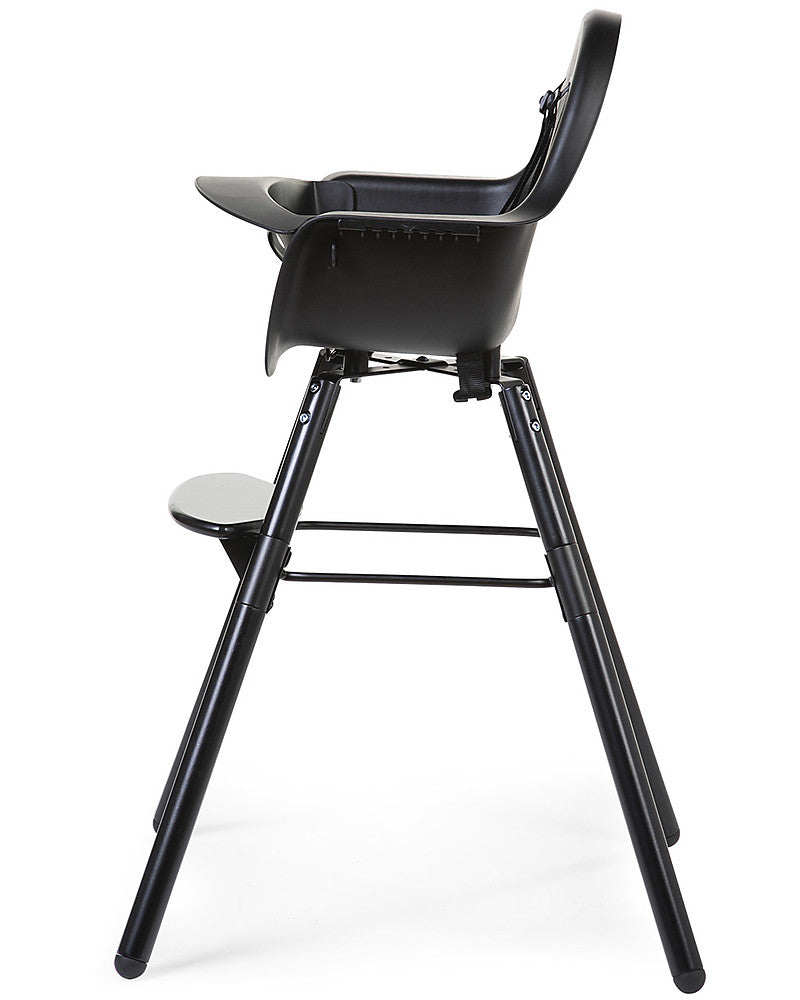 Seggiolone Evolutivo Evolu 2 Chair Nero Childhome - Decochic
