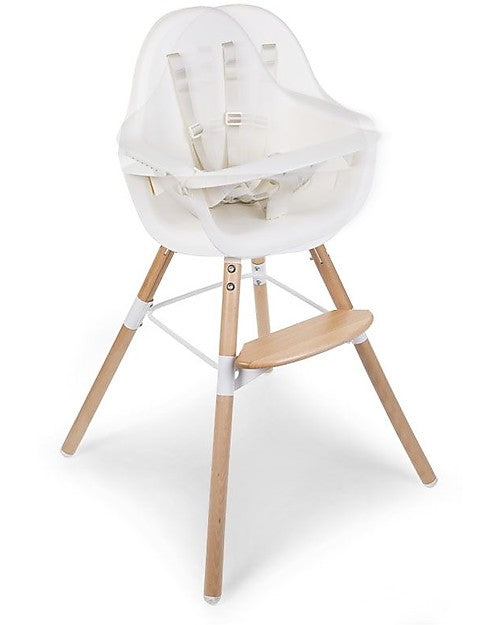 Chaise Haute Evolu ONE.80 ° Evolutive Blanc Childhome - Decochic