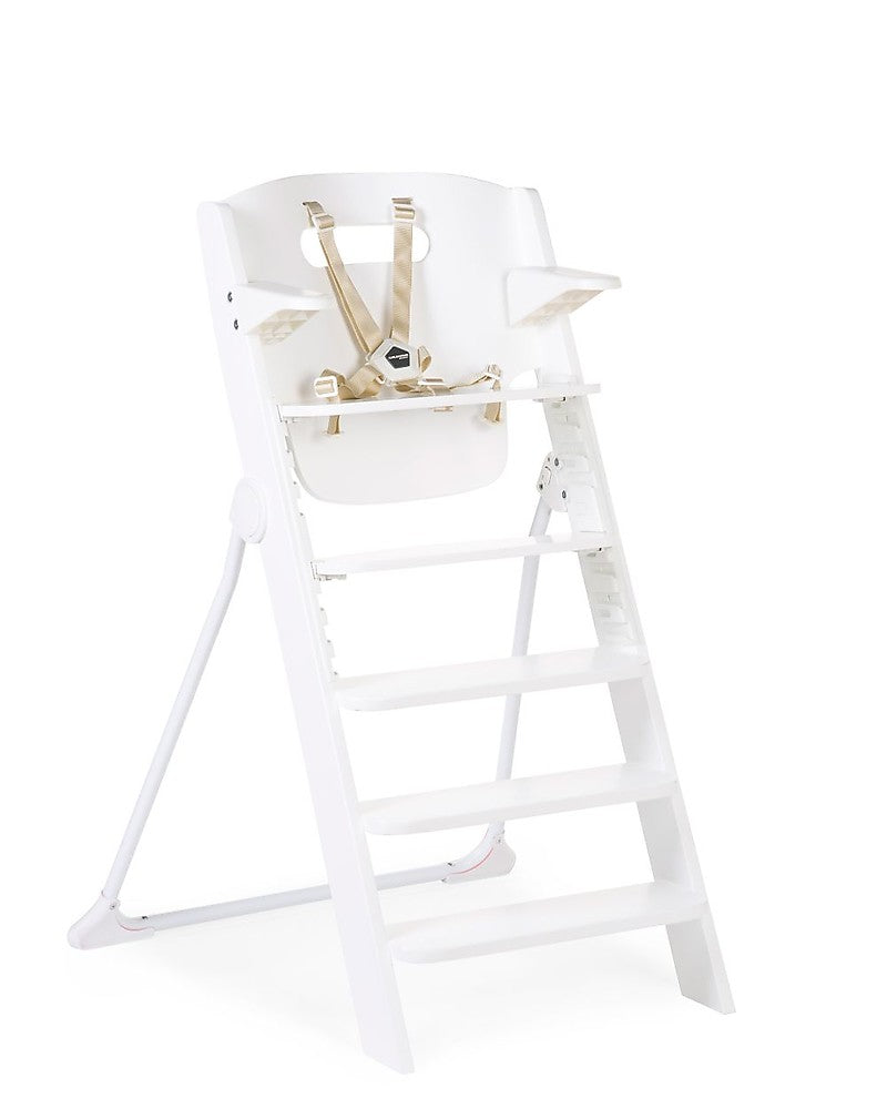 Kitgrow Chaise Haute Evolutive 4 en 1 Childhome Blanc - Decochic