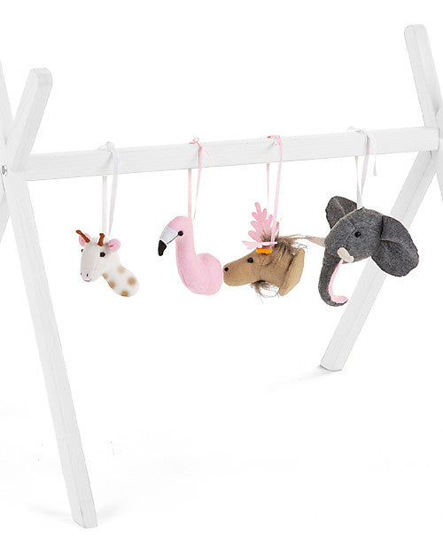 Set di 4 Animali in Feltro per Palestrina Childhome - Decochic