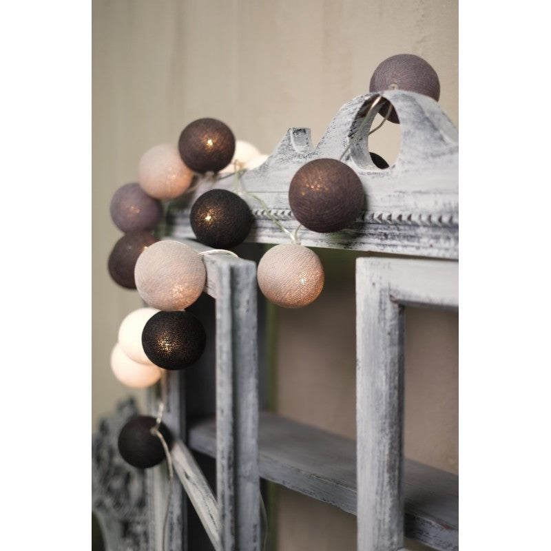 Led Graphite Spheres - Decochic