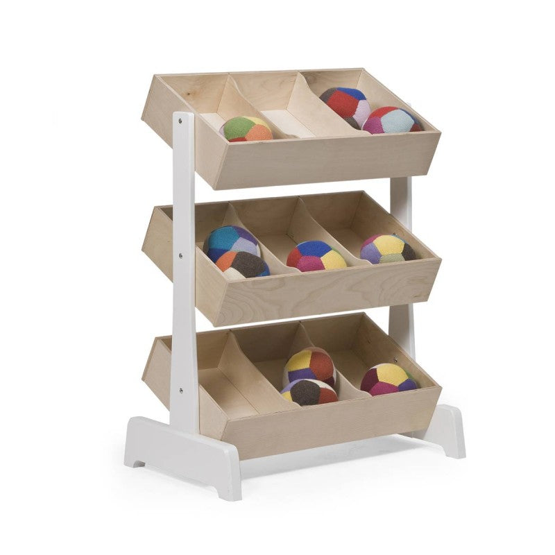 Mobile Children's Bookcase Oeuf NYC - Decochic