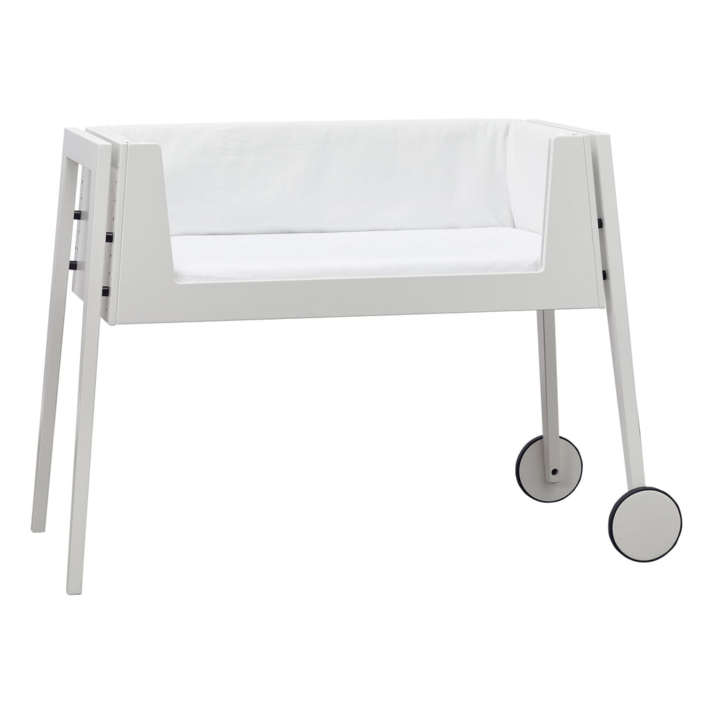 Culla Linea Side By Side Bianco Leander - Decochic