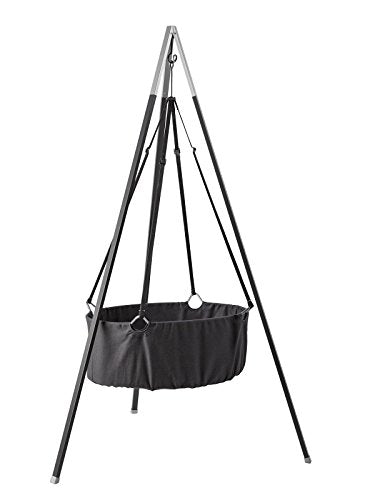 Hanging Cradle With Hook Gray Leander - Decochic