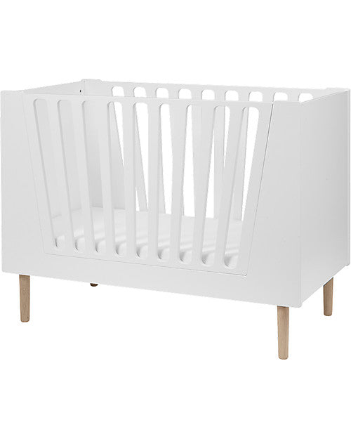 Done By Deer Transformable Cot 70x140 White - Decochic