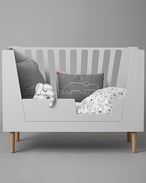 Done By Deer Transformable Cot 70x140 Gray - Decochic
