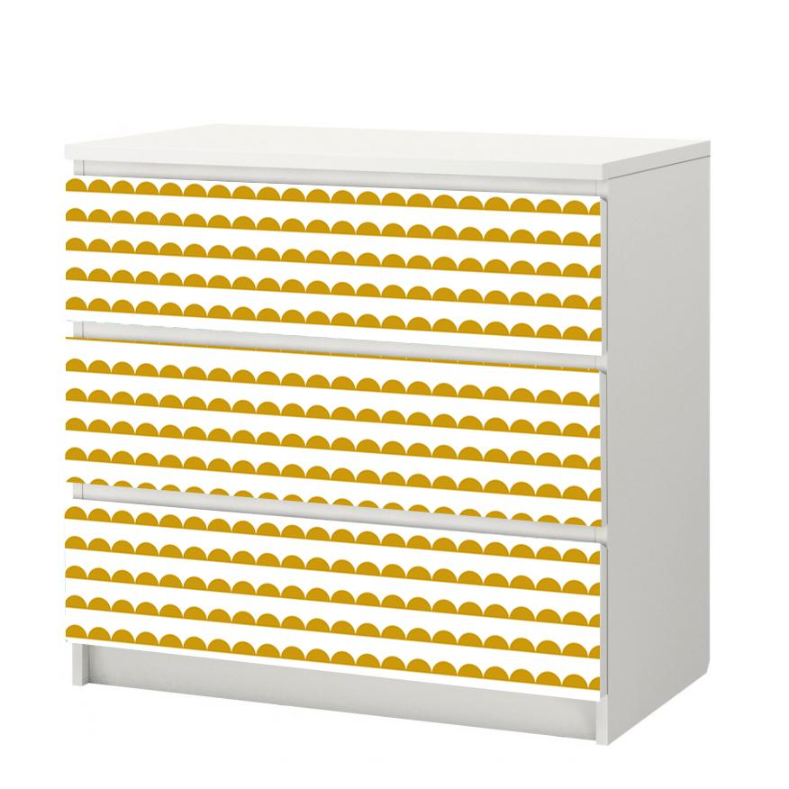 Halfmoon Self-Adhesive White Film - More Colors Available - Decochic
