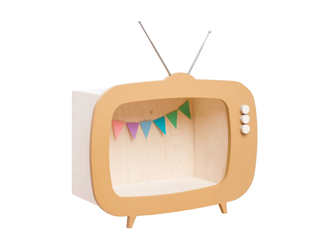 Mensola a TV Caramello Up Warsaw - Decochic