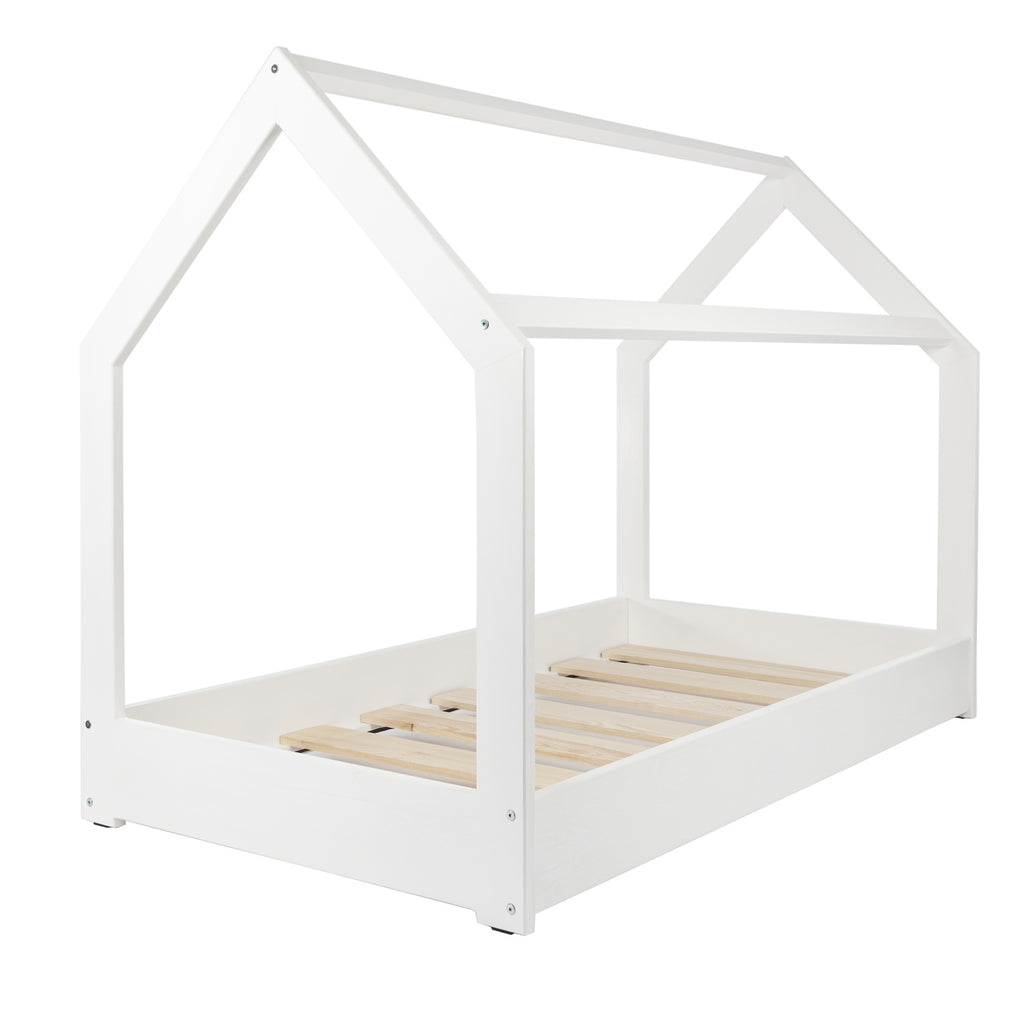 Montessori Cot in White House - Decochic
