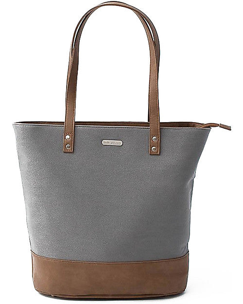 Borsa Cambio in Ecopelle Broadwalk Tote Grigio Little Unicorn - Decochic