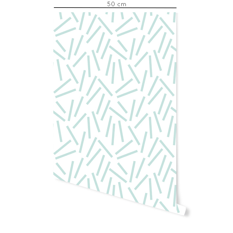 Confetti Self-adhesive Film White Background - More Colors Available - Decochic