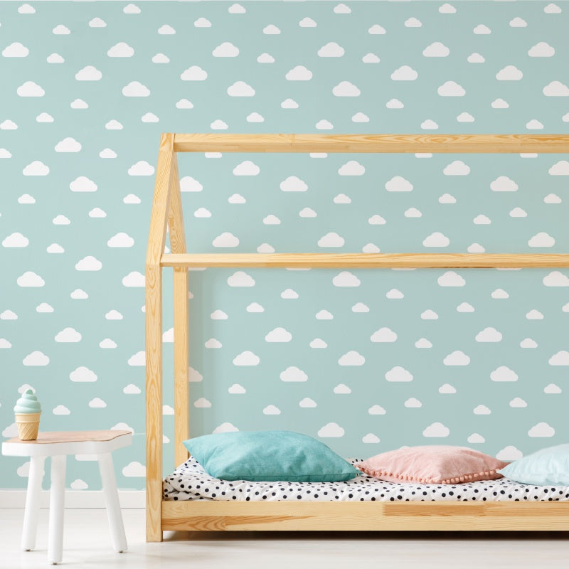 Cloud Self-Adhesive Film - More Colors Available - Decochic