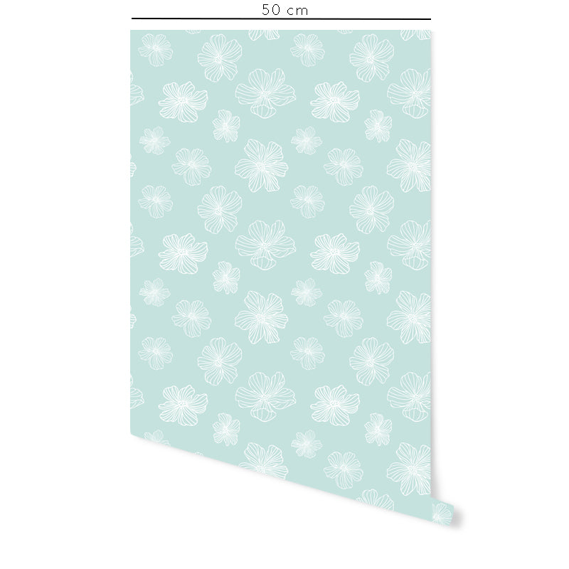 Poppies Self-Adhesive Film - More Colors Available - Decochic