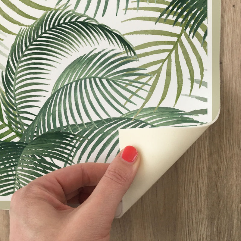 Tappeto in Vinile Tropical Acquerello - Decochic