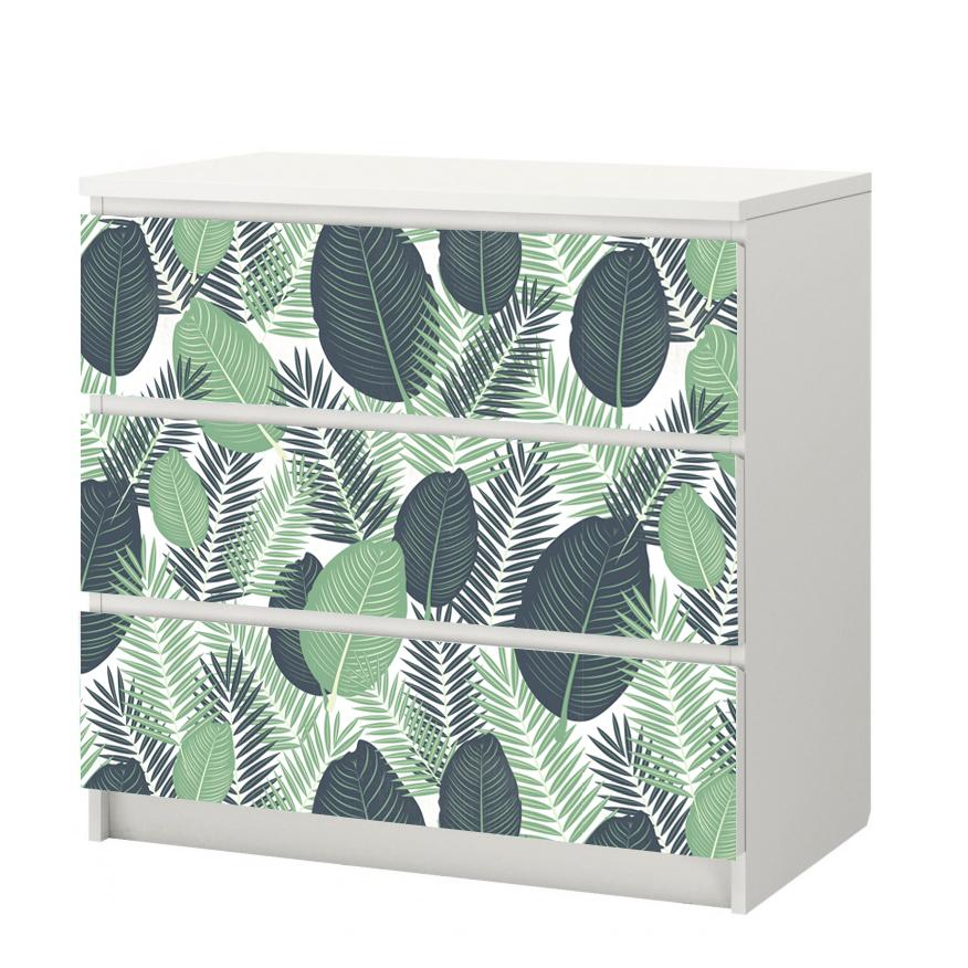 Pellicola Autoadesiva Tropical Jungle - Decochic