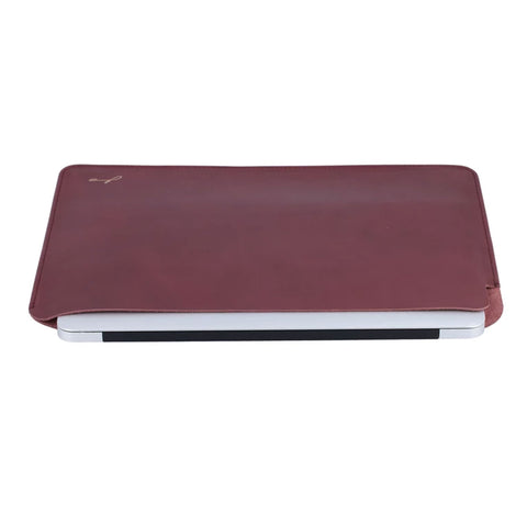 Maroon Laptop Sleeve