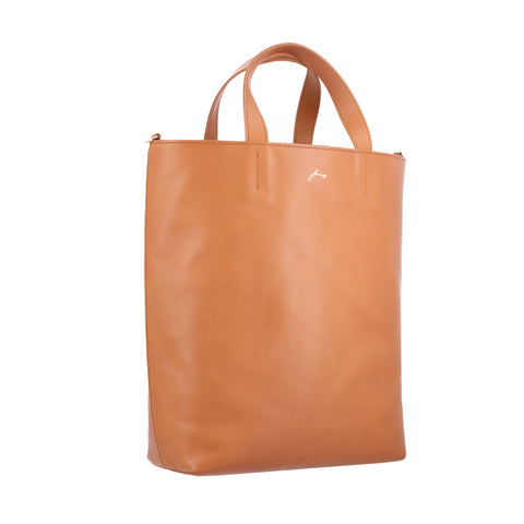 Tan Tote Bag