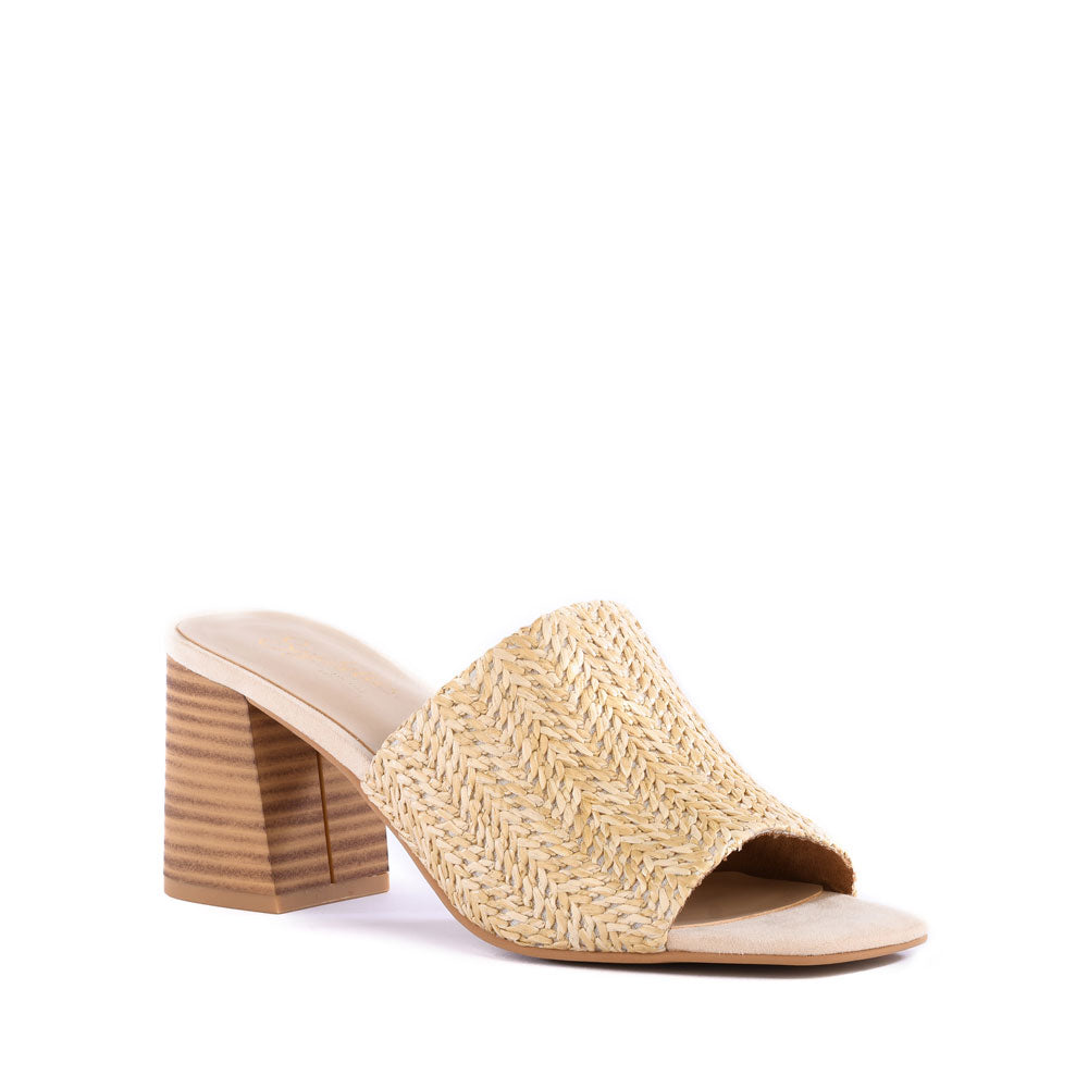 Product image of natural raffia front