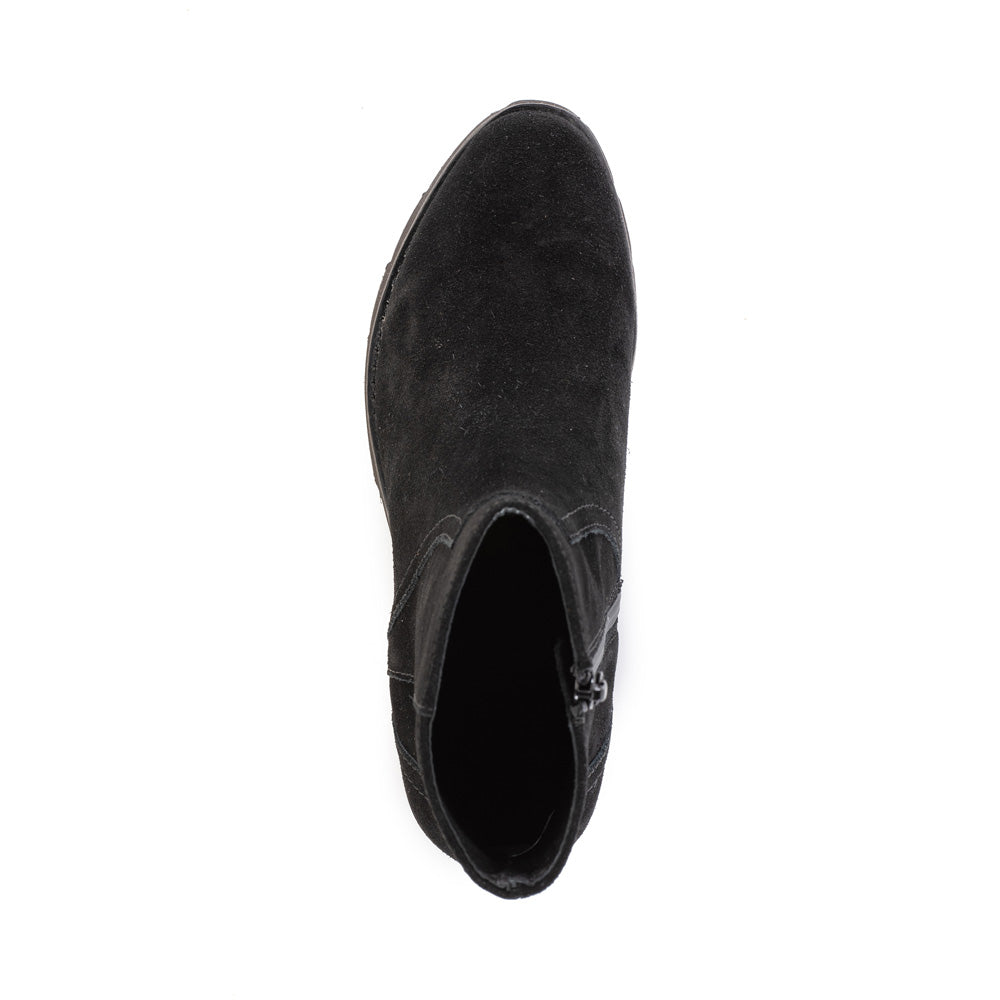Product image of black suede top