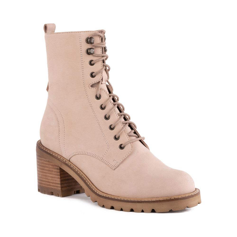 Product image of pink nubuck front