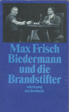 Load image into Gallery viewer, Max Frisch Biedermann und die Brandstifter (DE)