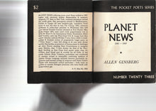 Load image into Gallery viewer, Planet News Allen Ginsberg
