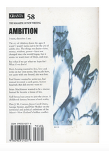 Load image into Gallery viewer, Ambition Granta Magazine 58
