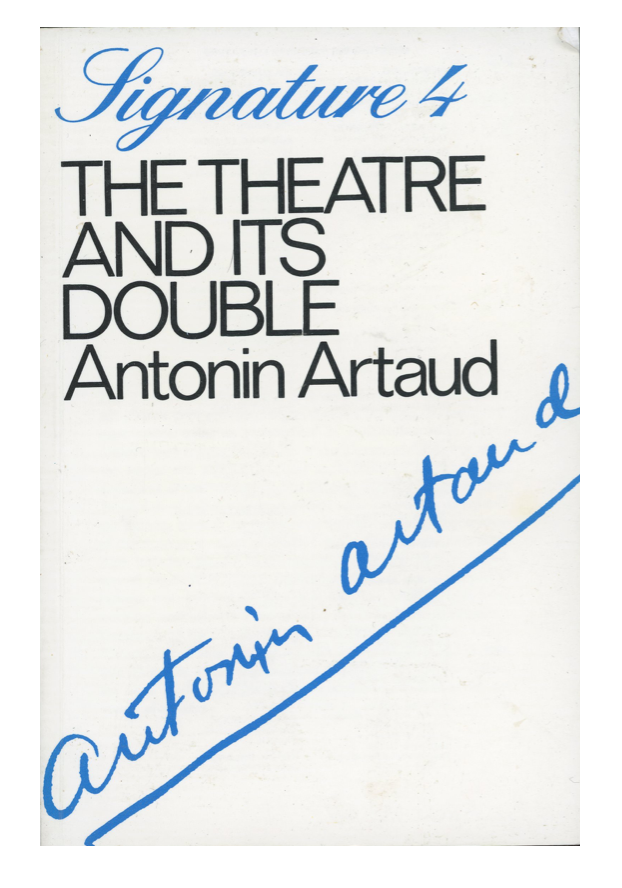 The Theatre and its Double Antonin Artaud