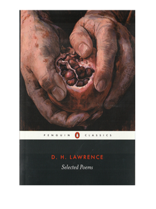 D H Lawrence Selected Poems with artwork by Joshua Perkin