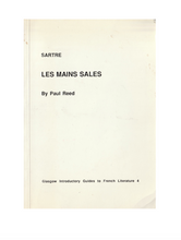 Load image into Gallery viewer, Sartre Les Mains Sales