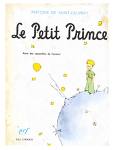 Load image into Gallery viewer, Antoine de Saint-Éxupery Le Petit Prince