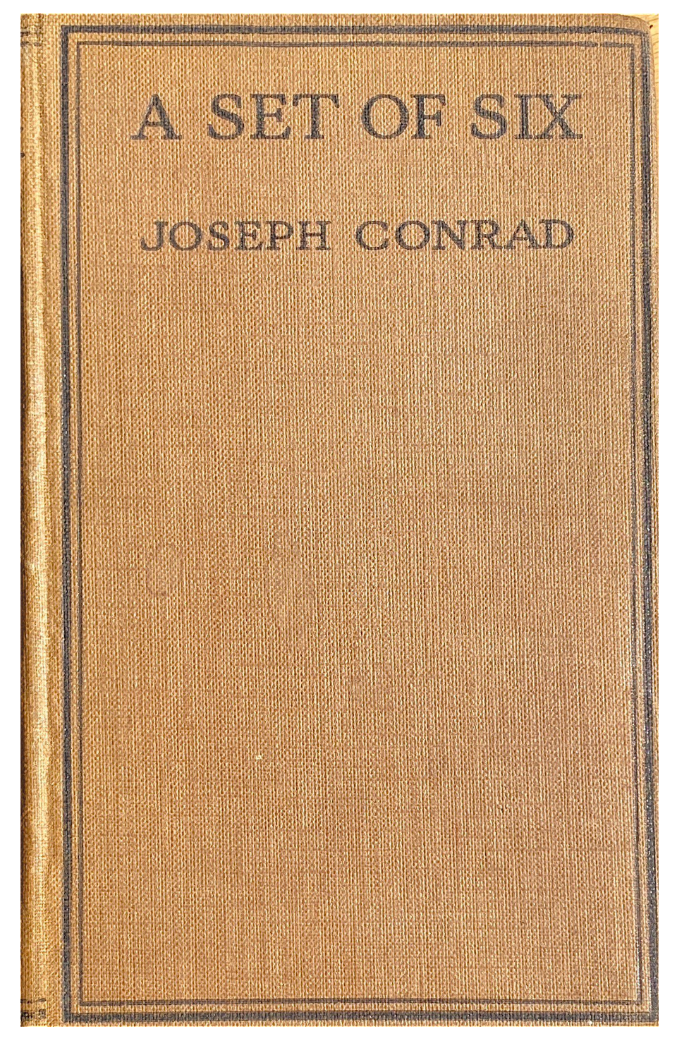 Joseph Conrad A Set of Six