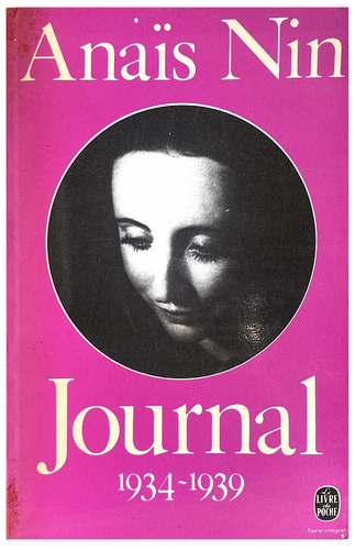 Anais Nin Journal 1934-1939