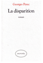 Load image into Gallery viewer, Georges Perec La Disparition