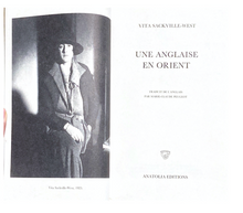 Load image into Gallery viewer, Vita Sackville-West Une Anglaise en Orient
