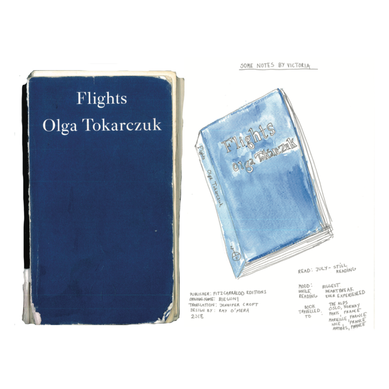 Flights by Olga Tokarczuk and Observations by Victoria Bencsik